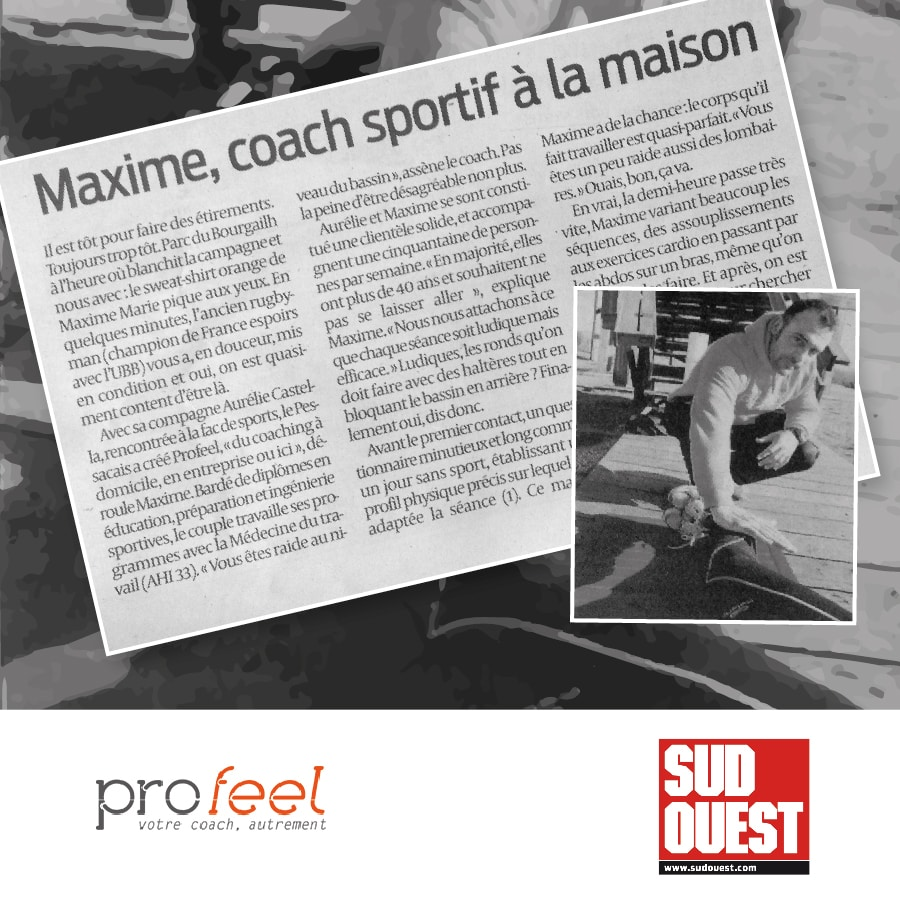 Profeel interview Sud Ouest 16-03-2016