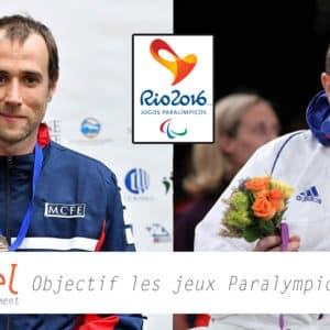 Les coachs sportifs Profeel préparent 2 athlètes pour les jeux paralympiques de Rio en Escrime Fauteuil