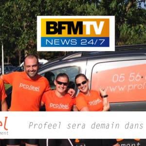 Profeel sera demain dans la matinale de BFM TV