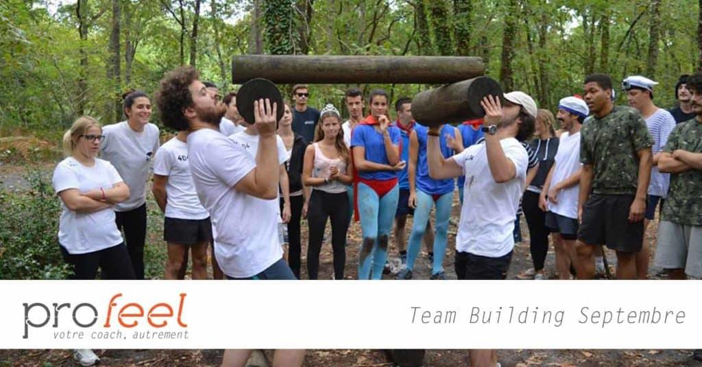 Team Building sur Bordeaux avec Profeel