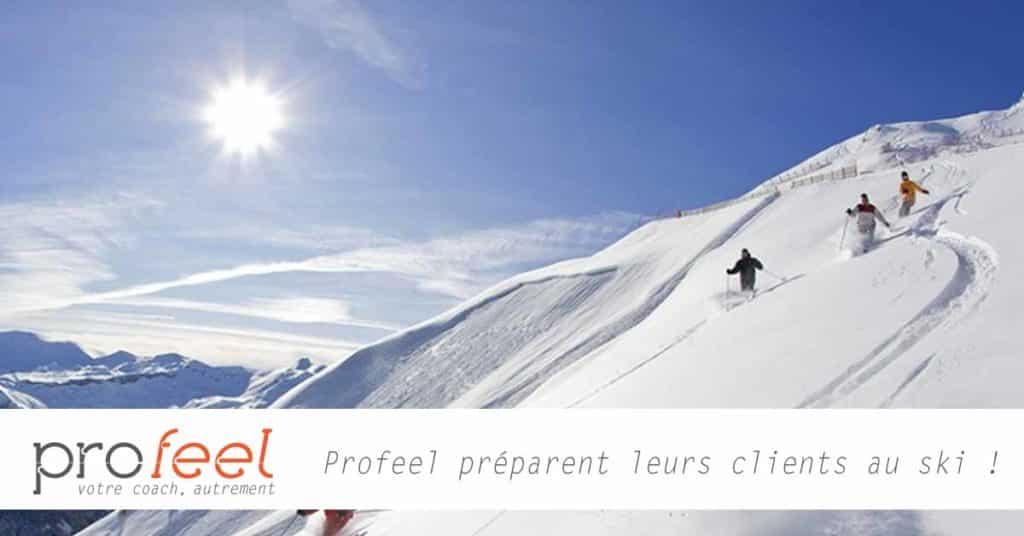 Coaching sportif sur bordeaux avec Profeel, préparation aux sports d'hiver