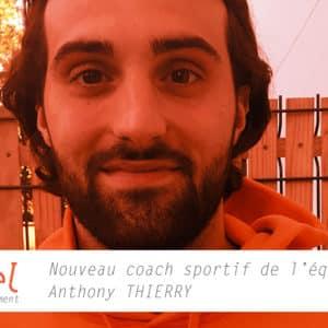 Toute l'équipe Profeel souhaite la bienvenue à Anthony