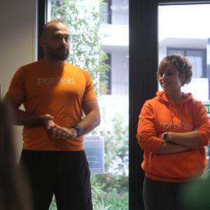 Team Building sportif Entreprise par Profeel, projet commun 100% partagé