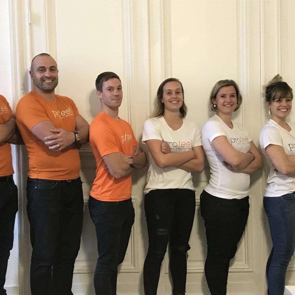 Coach Profeel team building entreprise